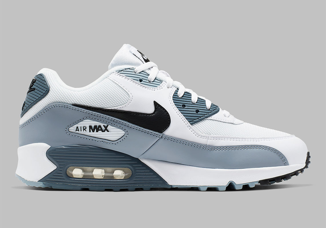 low priced f5091 a48a5 Nike Air Max 90. Release Date  March April, 2019  110. Color  White Obsidian-Armory  Blue-Black Style Code  AJ1285-108