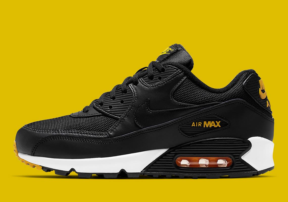 Nike Air Max 90 Black Yellow AJ1285 022 Release Info