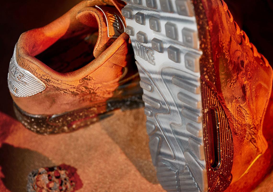 Nike Air Max 97 OG Women's Running Shoes Cherry Blossom Powder #917646 600
