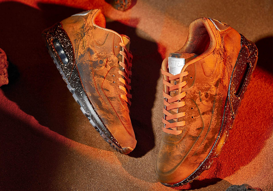 f704e4dd24 Nike Air Max 90 Mars Landing Store List | SneakerNews.com