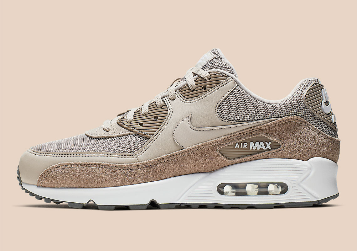"""new concept 83833 1457b Nike Air Max 90 """"Sepia Stone"""" Adds Earth-Toned Suedes"""
