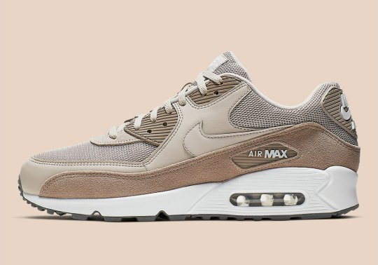 "Nike Air Max 90 ""Sepia Stone"" Adds Earth-Toned Suedes"