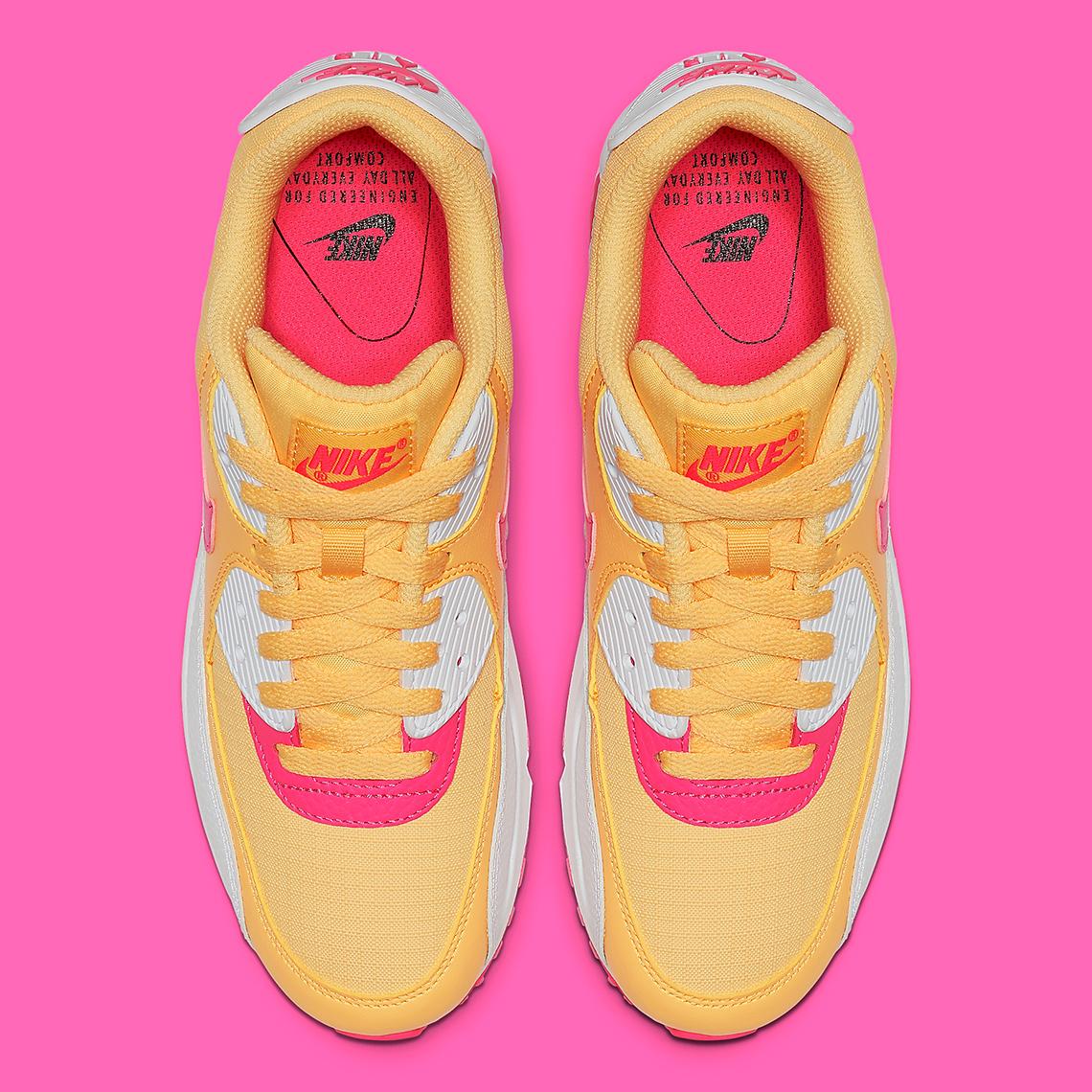 nike air max womens yellow