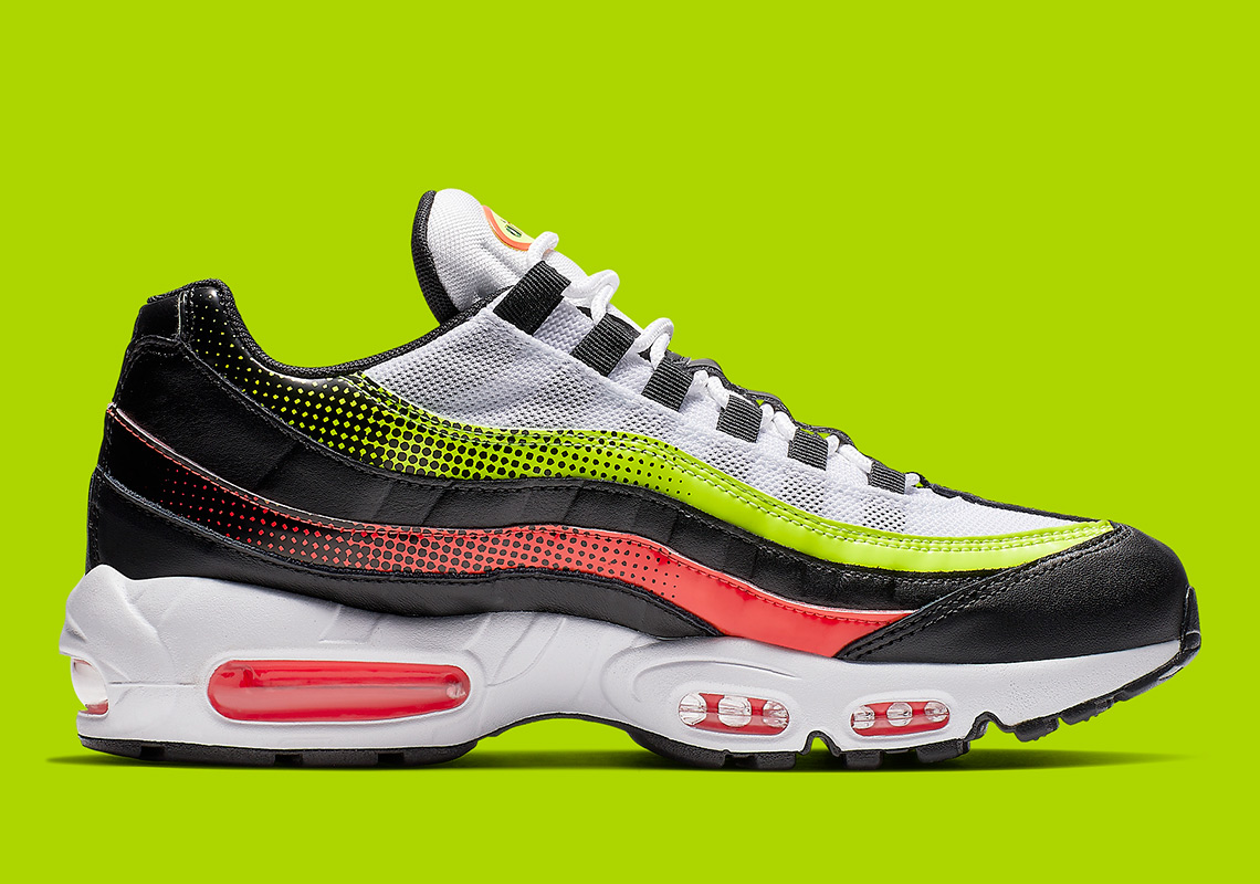 huge selection of 6edf3 fb956 Nike Air Max 95 Volt Solar Red AJ2018-004 Release Info   SneakerNews.com