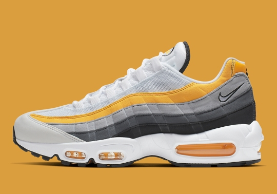 The Nike Air Max 95 Arrives In Amarillo And Dark Grey