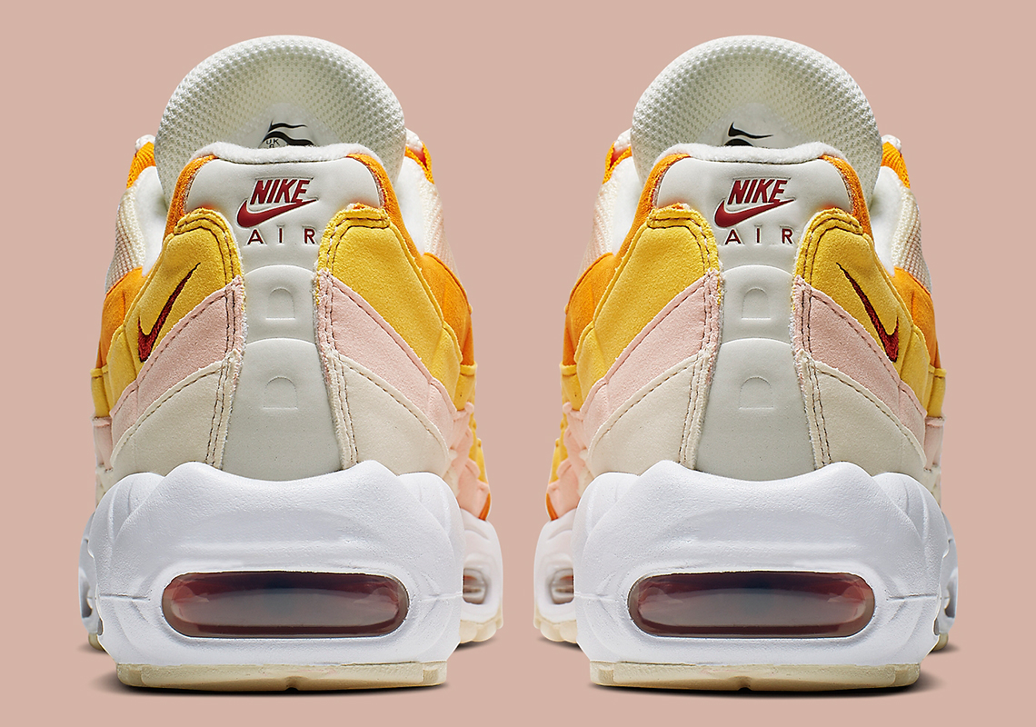 best service 2cbaf 6e93c Nike Air Max 95  160. Color  Pale Ivory Forward Orange Style Code   307960-114. Advertisement. Advertisement