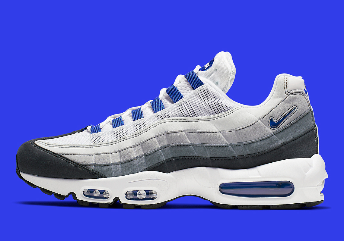quality design d1b41 e7c96 The Nike Air Max 95 SC Returns In OG-Style Grey And Blue