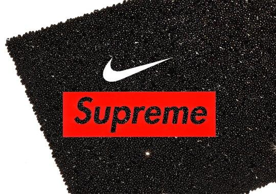 Supreme's Next Nike Collaboration Is A $500 Swarovski Air Max 95