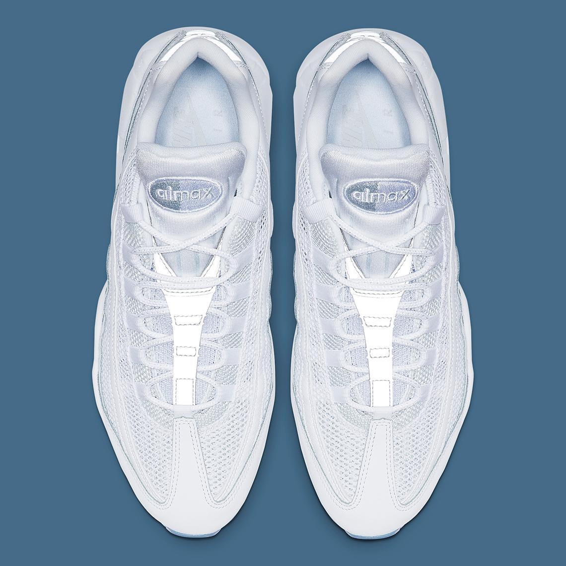 Nike Air Max 95 White Silver 749766-115