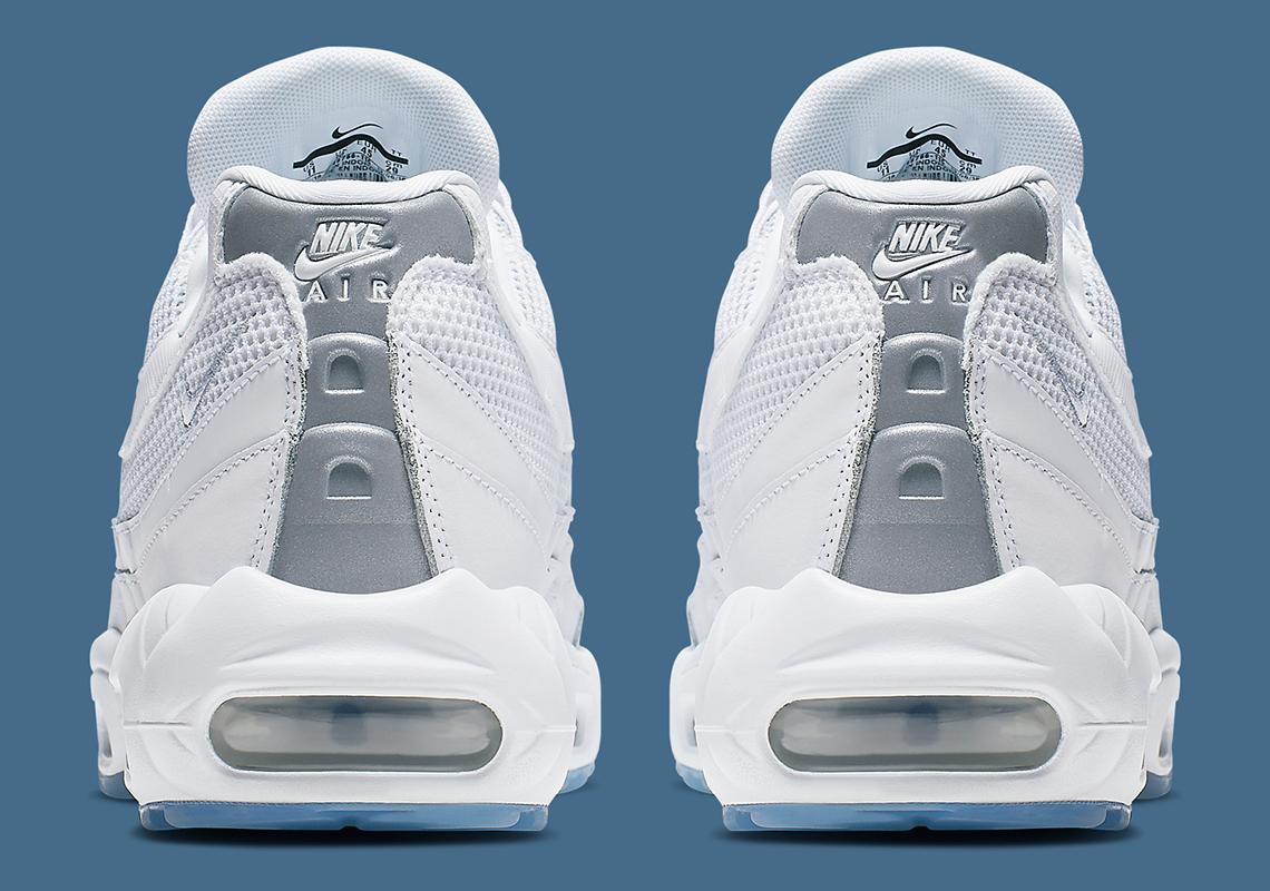 Nike Air Max 95 White Silver 749766 115 Release Info