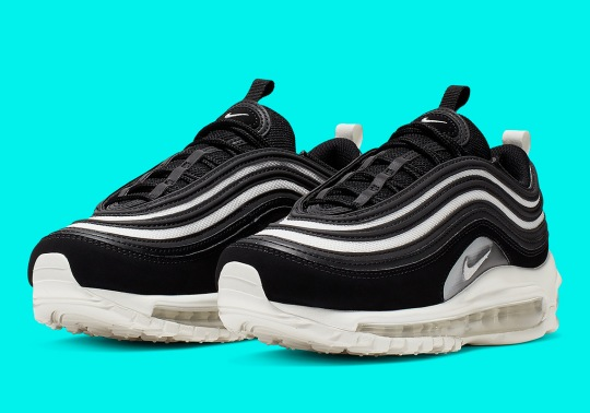 The Nike Air Max 97 Returns In Another Sleek Black, Grey, And White