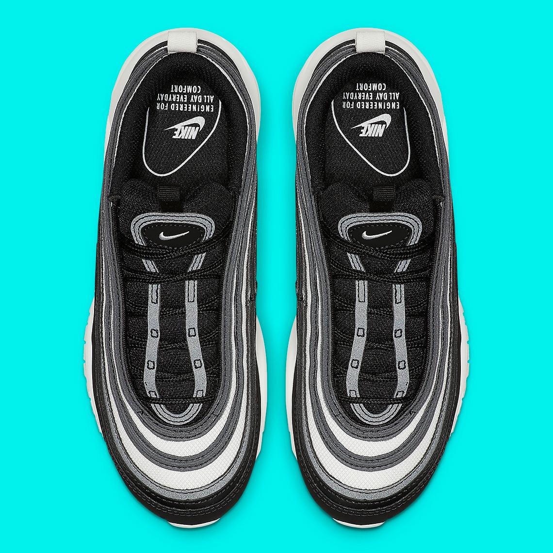 Nike W Air Max 97 Black Platinum Tint Summit White | Footshop