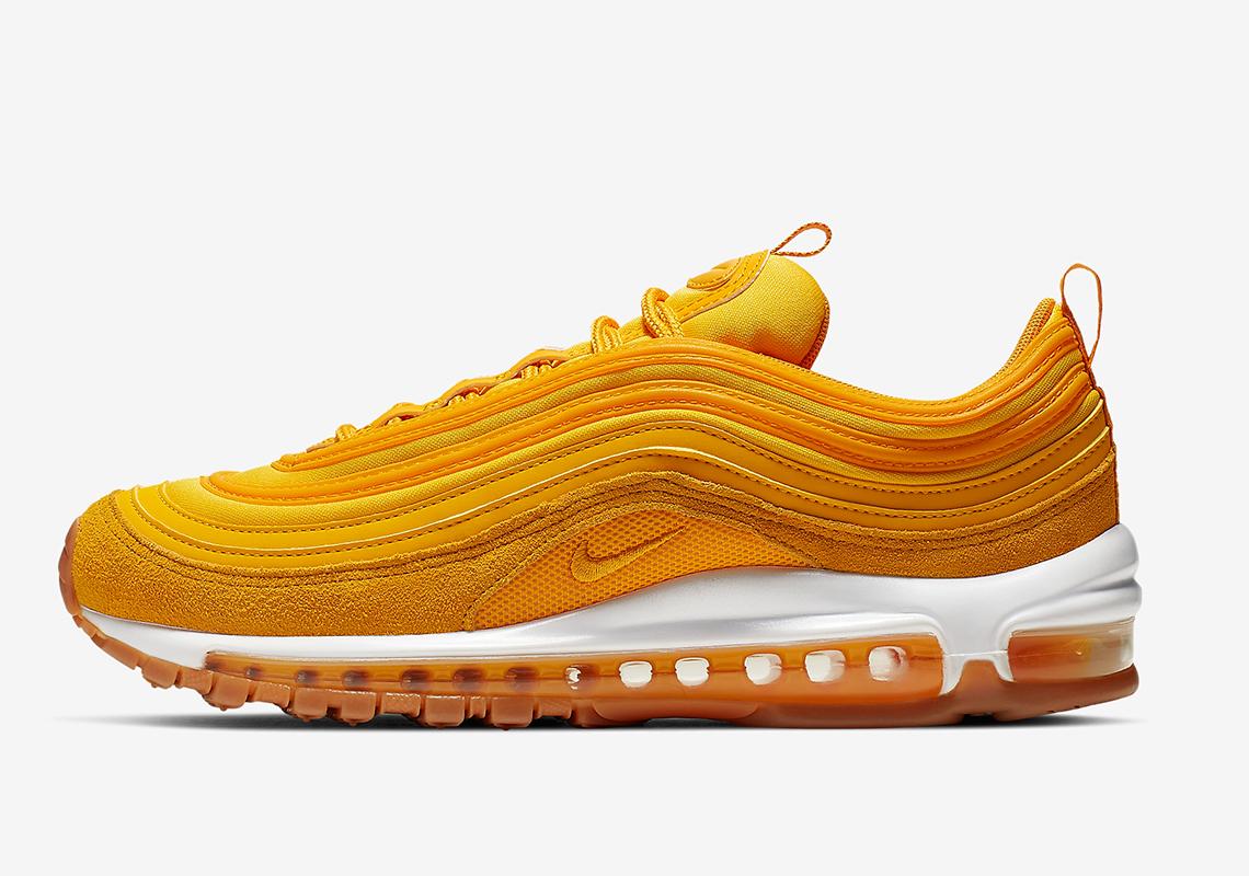 Nike Air Max 97 Women's Yellow Gold 917646 700 |