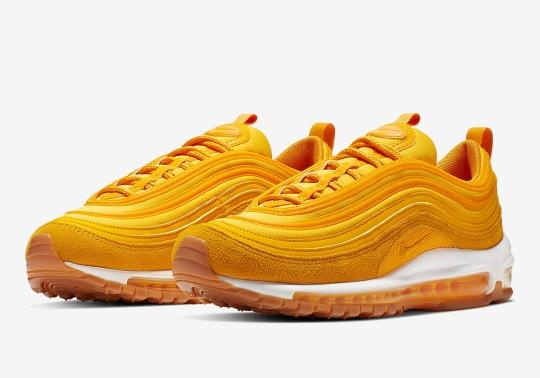The Nike Air Max 97 Goes Full Mustard Yellow