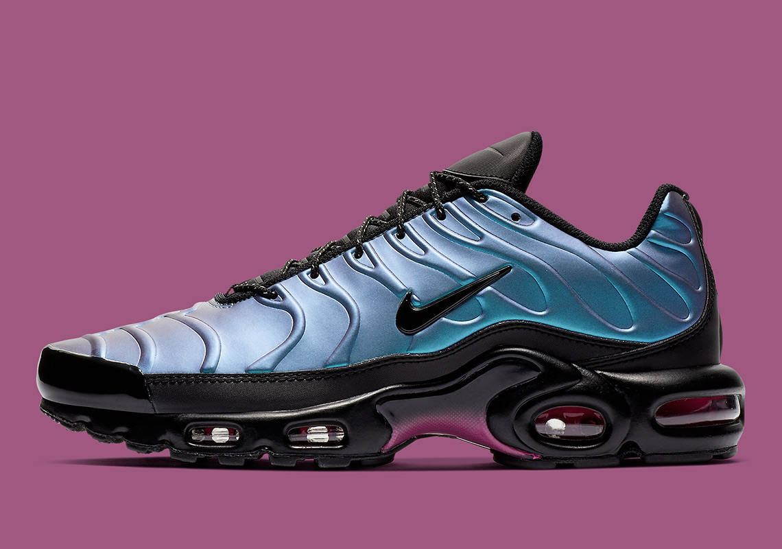 b37fcb32f7c6 The Nike Air Max Plus Equips A Foamposite Shell-Like Upper