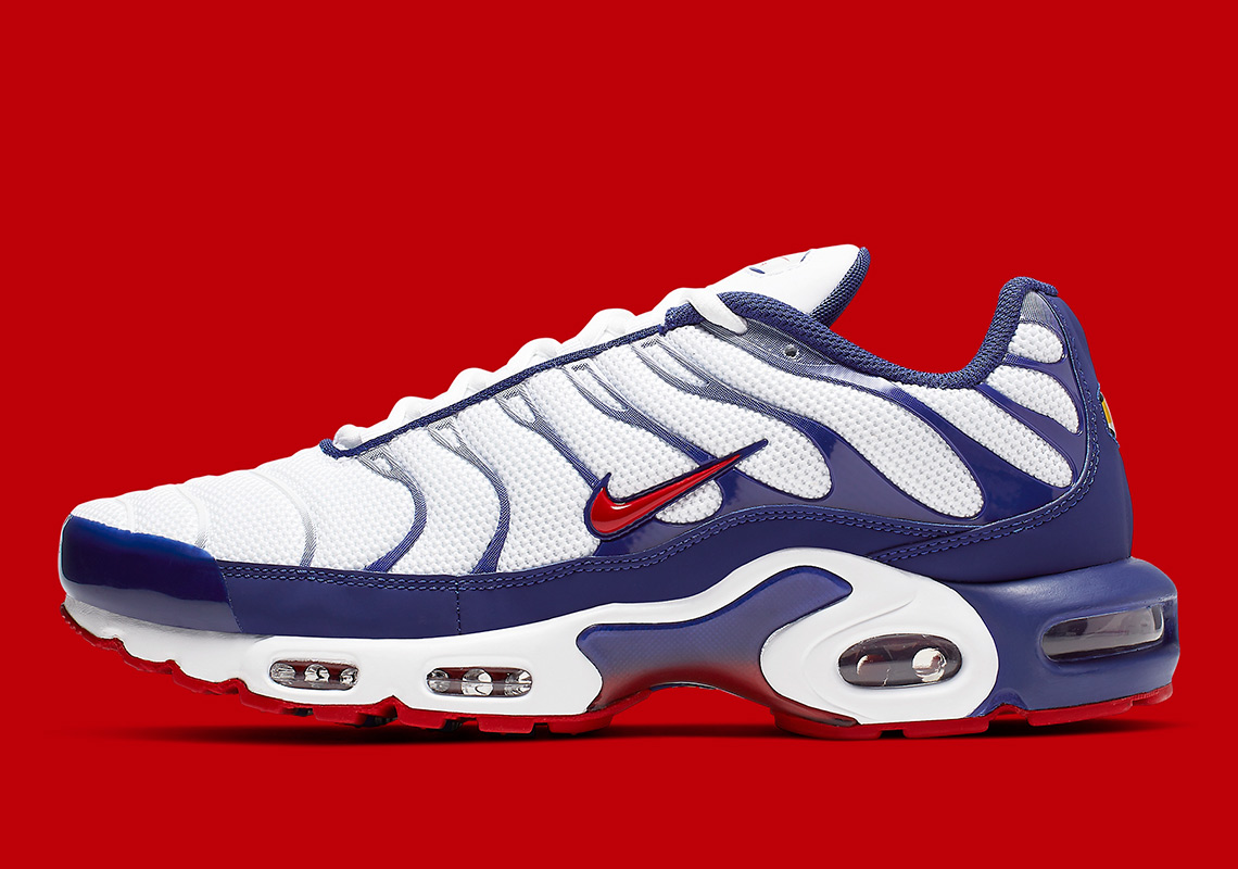 brand new d009e 128a6 The Nike Air Max Plus Colorway For Sixers Fans Is Here