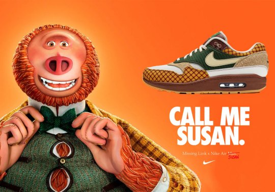 Nike And Laika Create The Air Max Susan For Missing Link