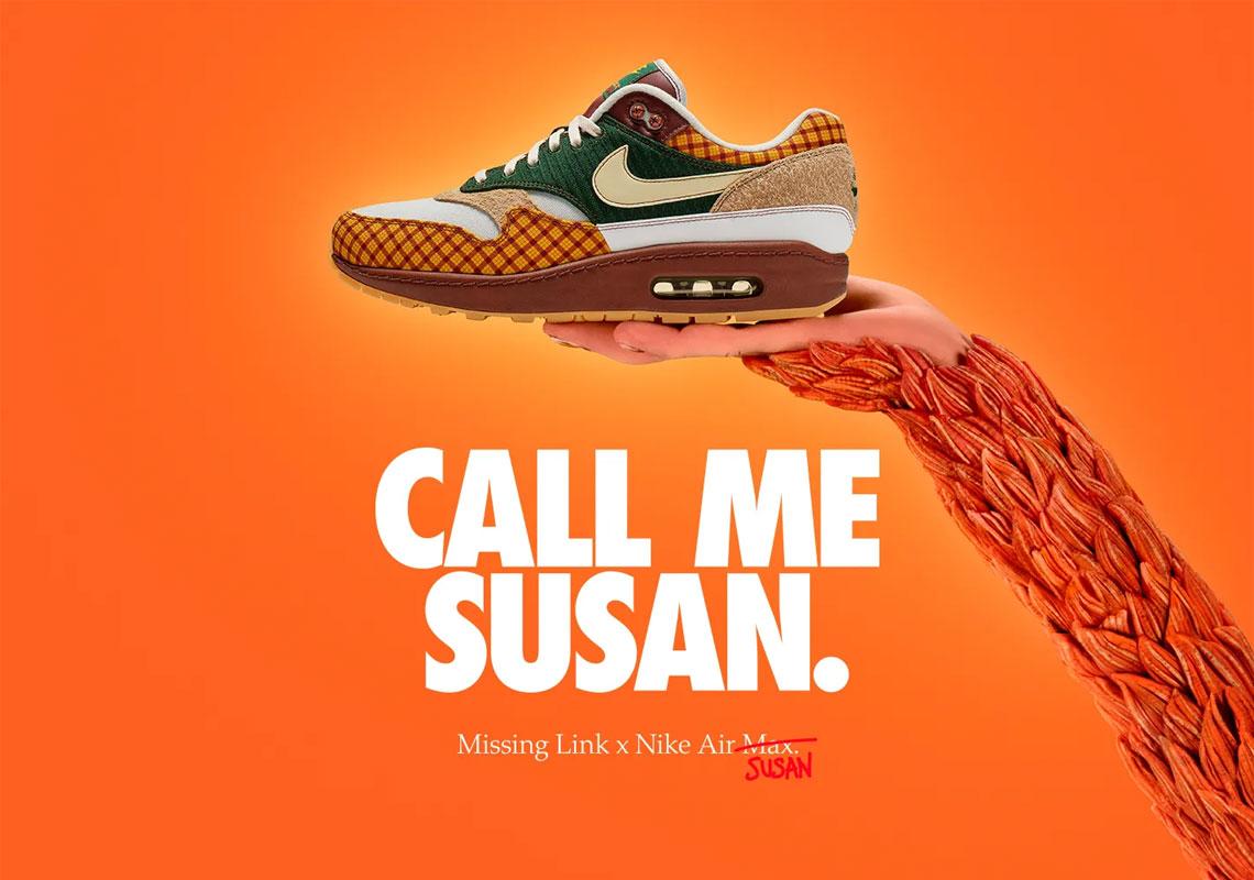 Un pan Ya que roto  Nike Air Max 1 Susan Missing Link CK6643-100 Info | SneakerNews.com