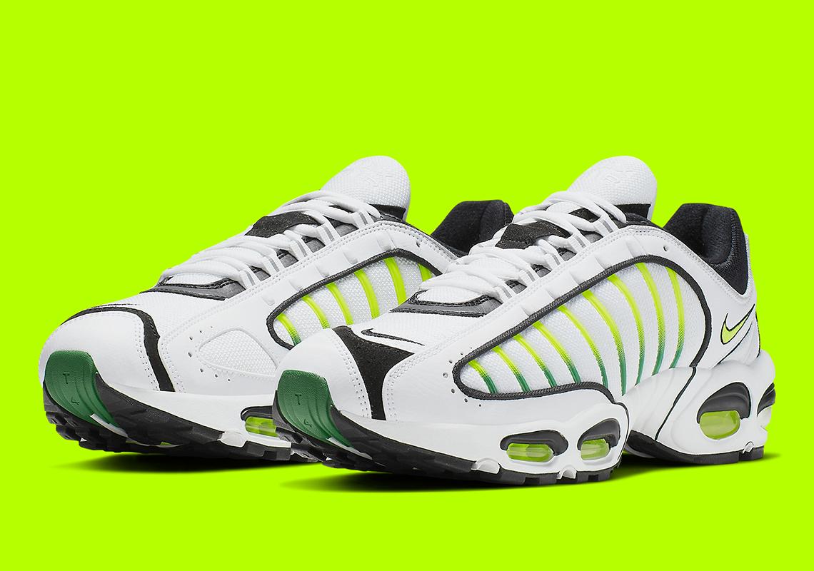 detailed look 7342f 7a48c Nike Air Max Tailwind IV White Volt AQ2567-100 Info   SneakerNews.com