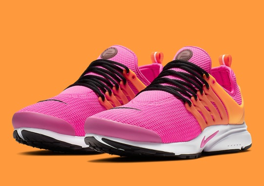 The Classic Nike Presto Returns In Fuchsia And Orange