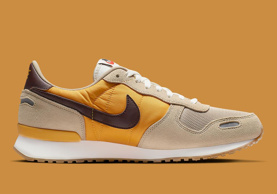 subtítulo mezcla Críticamente  Nike Air Vortex Tan Gold Burgundy 903896-203 Info | SneakerNews.com
