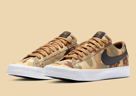 "Nike SB Blazer Low ""Brown Camo"" Is Coming Soon"
