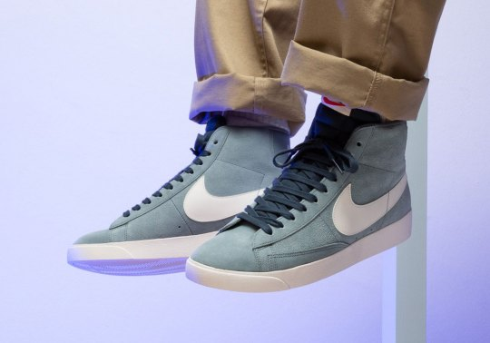 "The Vintage Nike Blazer Movement Continues With This ""Monsoon Blue"""
