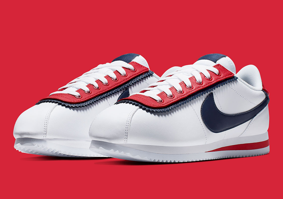 innovative design a27b0 0b2c8 Nike Cortez SE Doubled CD7253 100 Release Info | SneakerNews.com