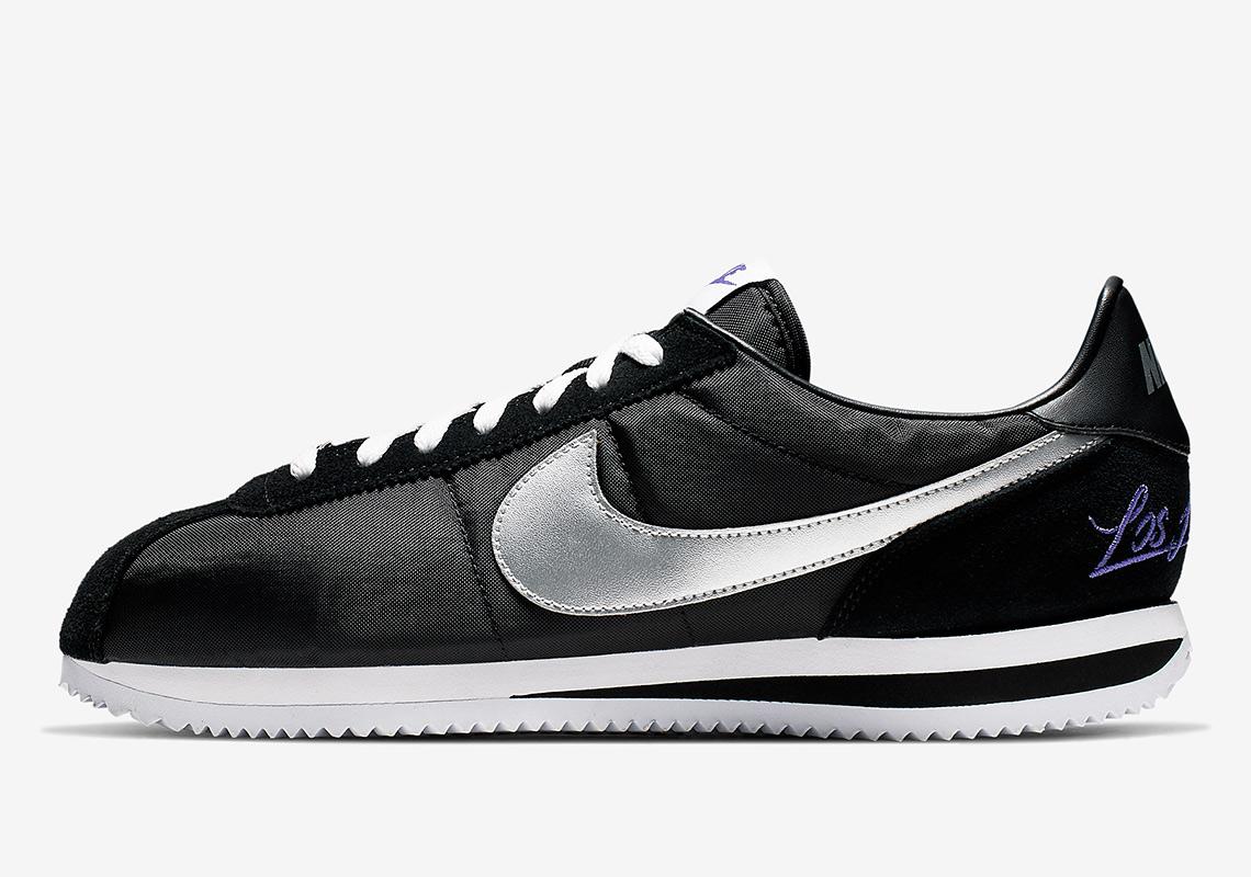 more photos 5fb16 e12da Nike Cortez Release Date  April 1st, 2019  100. Color  Black Metallic  Silver-White Style Code  CI9873-001. Where to Buy