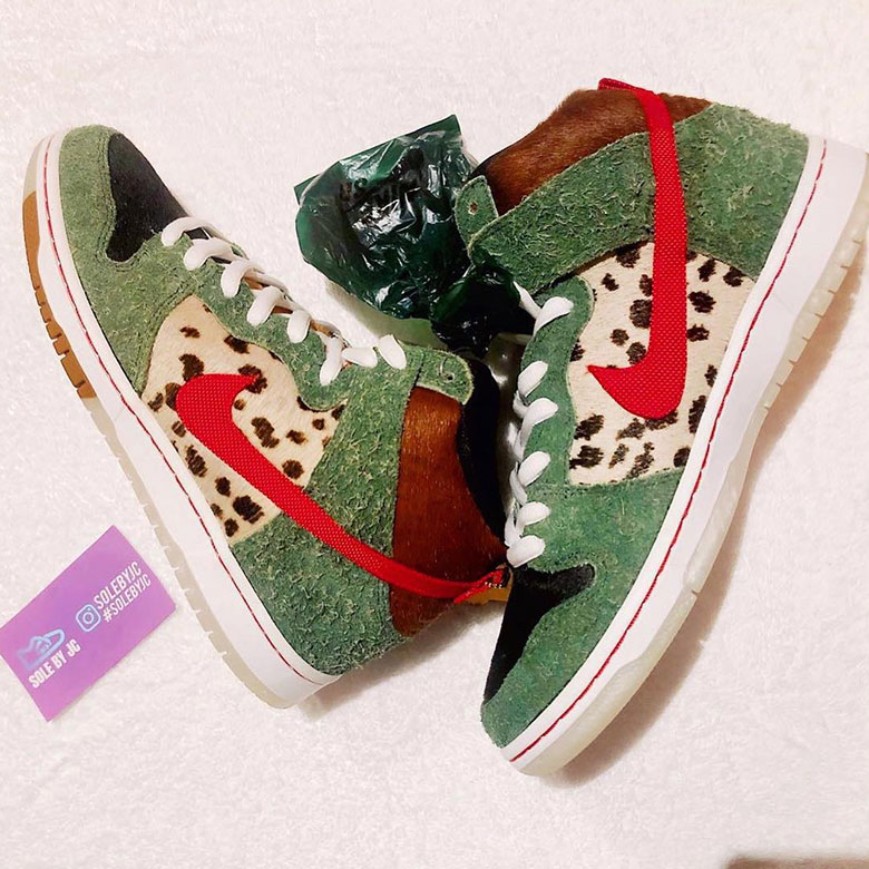 new arrival 3c62d 921e6 Nike SB Dunk High Dog Walker BQ6827-300 Release Info   SneakerNews.com