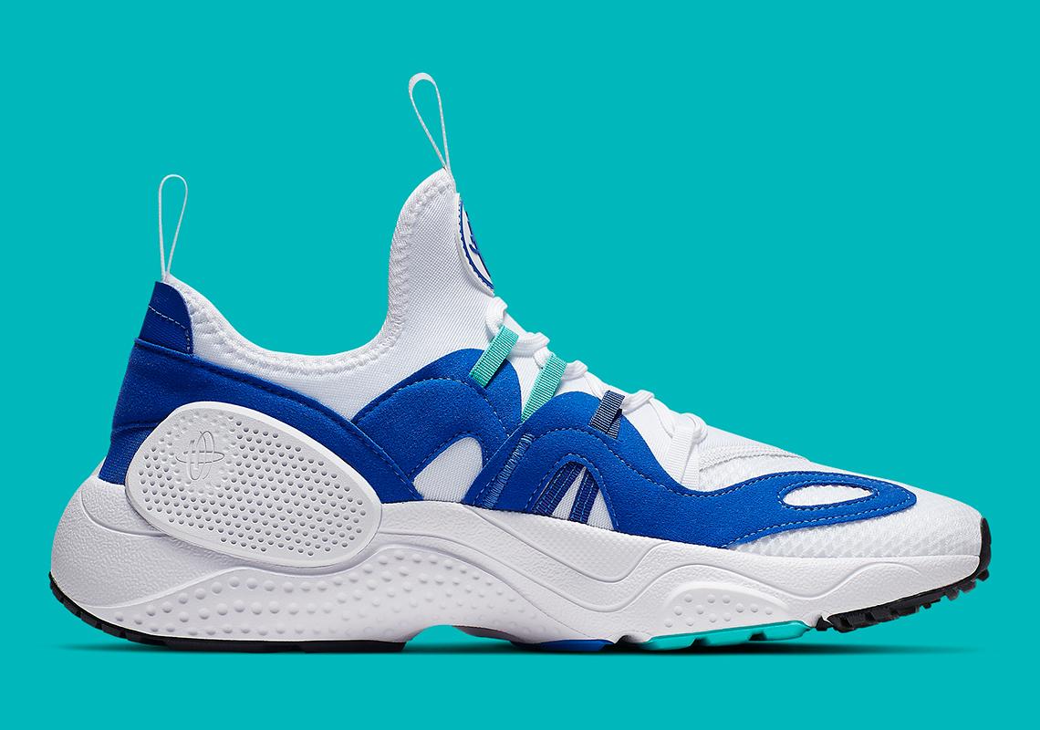 Nike Huarache Edge TXT White Blue Teal AO1697,102
