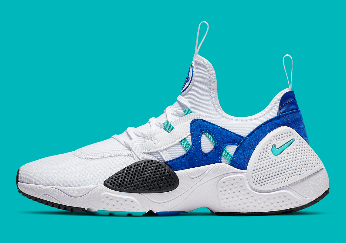 sports shoes 268f8 7d147 Nike Huarache Edge TXT White Blue Teal AO1697-102 ...