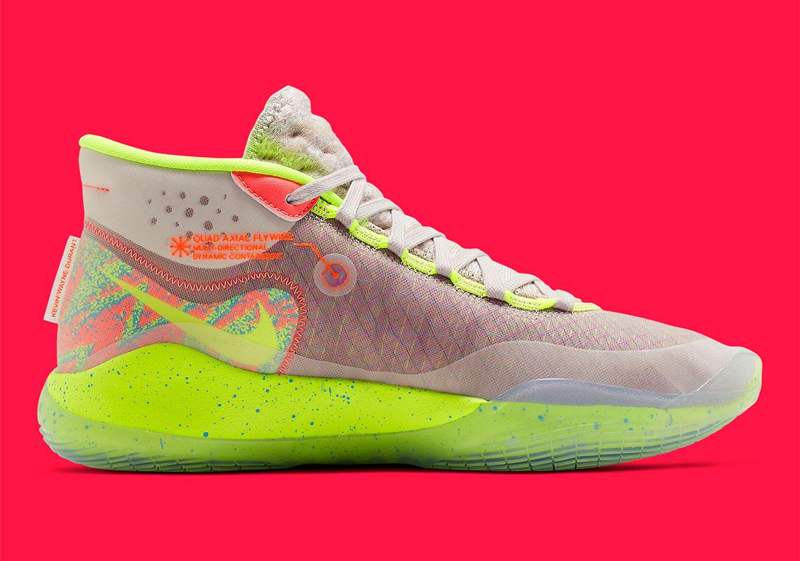 promo code 610c6 73af4 Nike KD 12 90s Kid AR4229-900 Release Date   SneakerNews.com