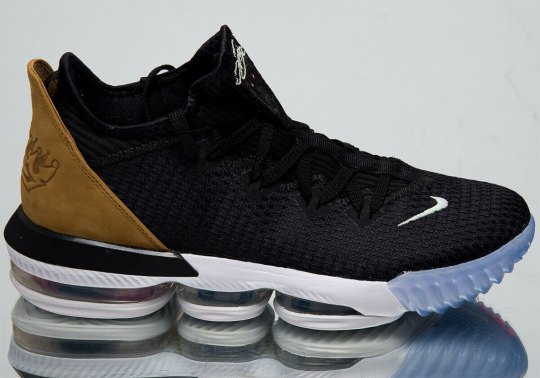 """The Nike LeBron 16 Low """"Soundtrack"""" Releases This Week"""