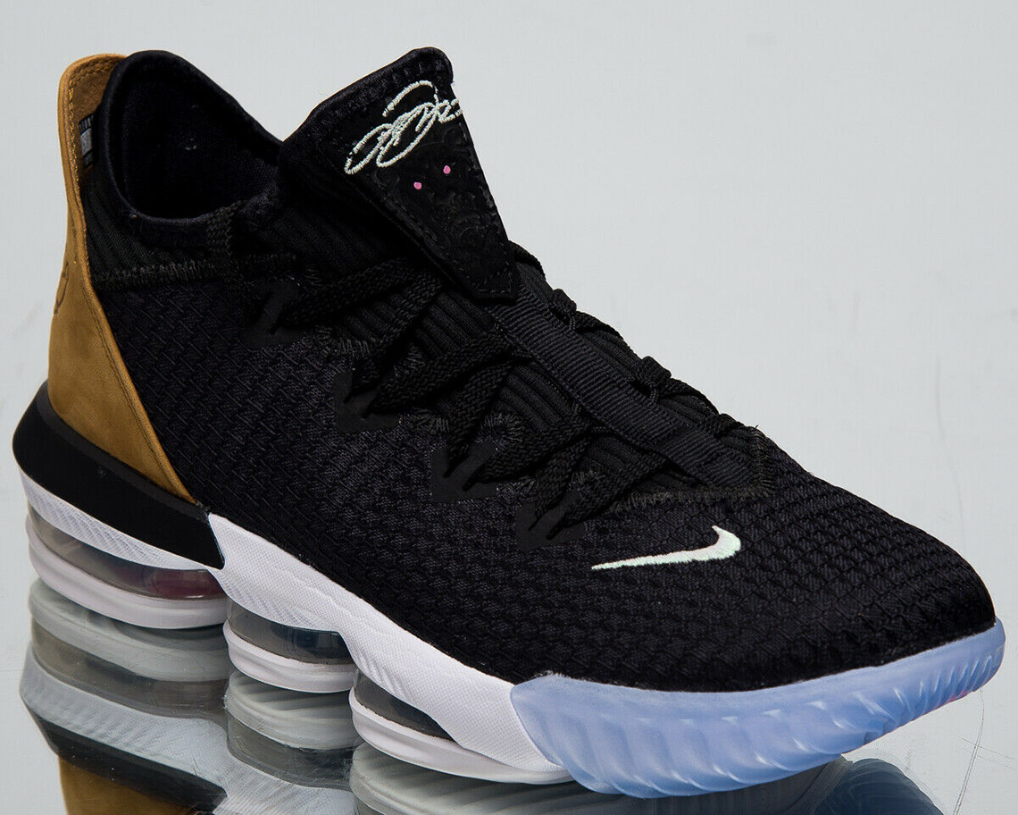 ad3258bb41b Nike LeBron 16 Low Black And Tain Release Info
