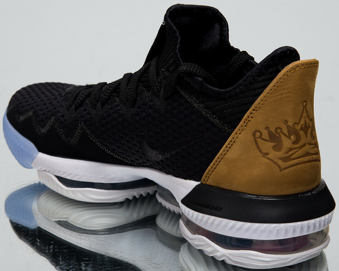 "Nike LeBron 16 Low ""Black And Tan"" Release Details"