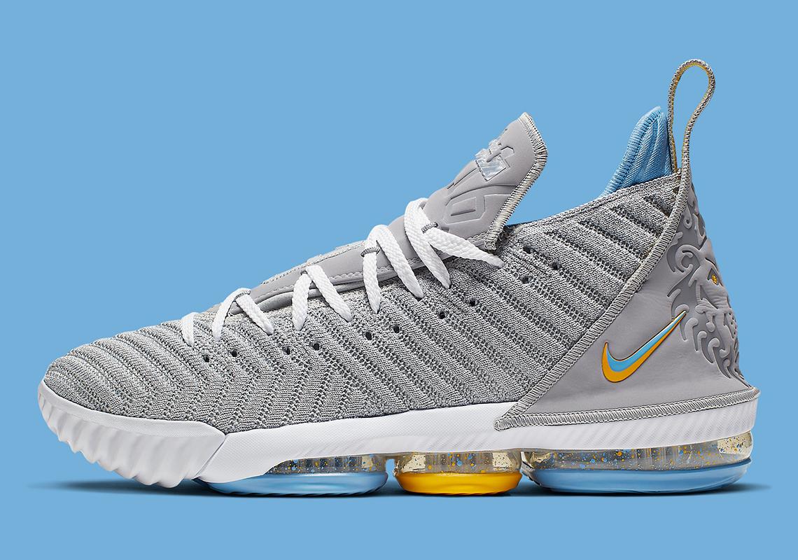 Nike Lebron 16 Minneapolis Lakers Ck4765 001 Release Date Sneakernews Com