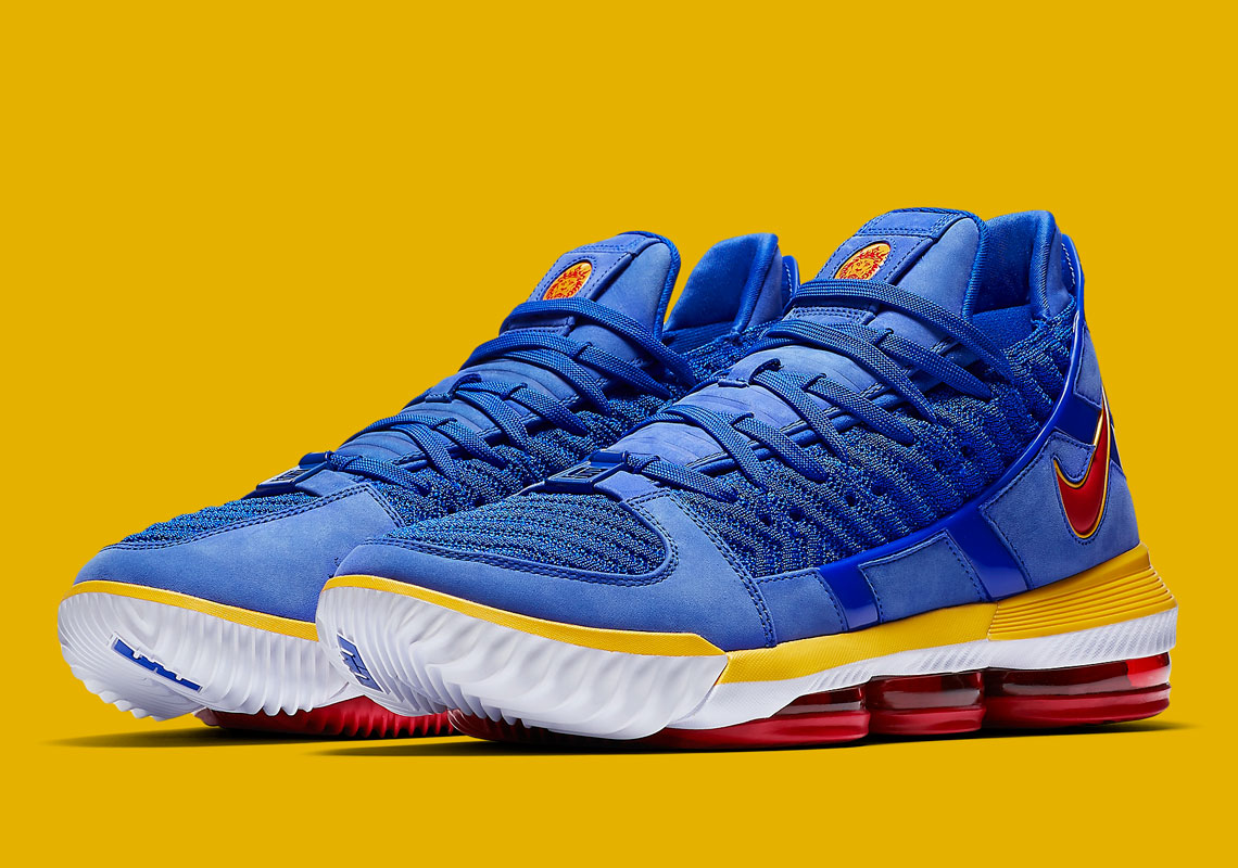 05086e1be92 Nike LeBron 16 SB Blue Super Bron CD2451-400