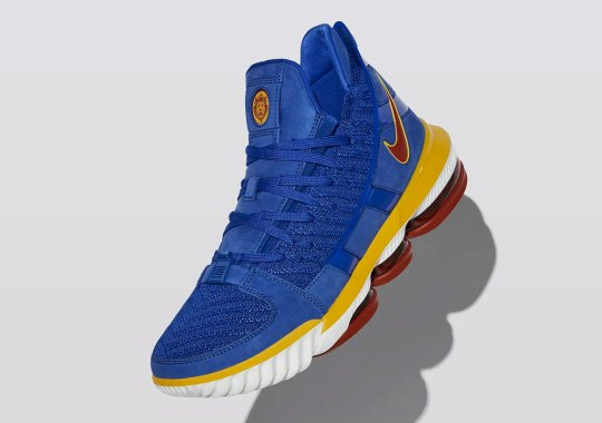 "Nike s  LeBronWatch Continues With A LeBron 16 ""SB Blue"" de8d666b4"