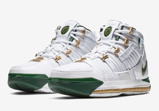 """The Nike LeBron 3 """"SVSM"""" Is Returning In An """"Away"""" Colorway"""