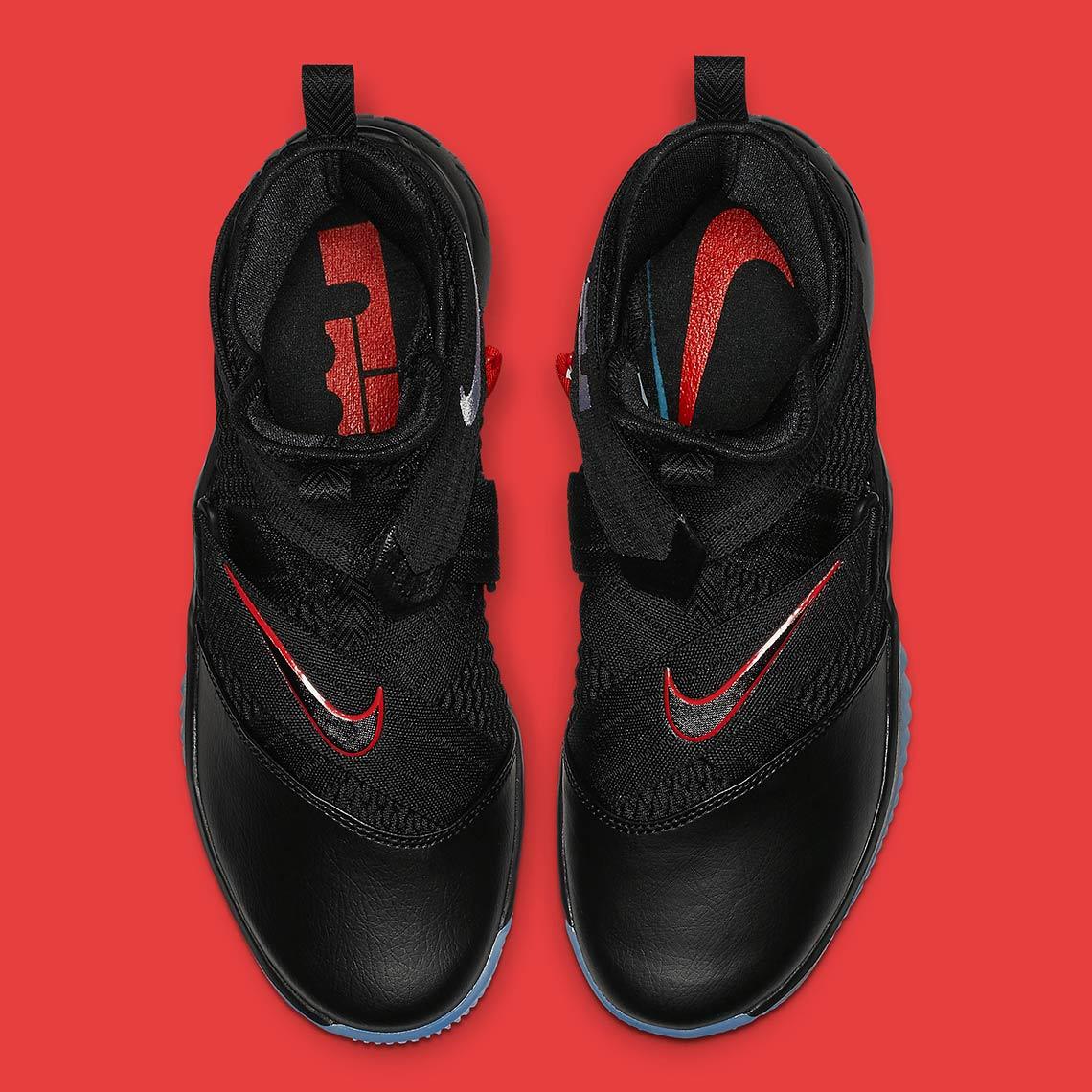 160448206cd08 Nike LeBron Soldier 12 Bred AV3812-004 Release Info