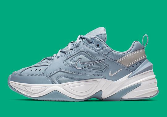 "The Nike M2K Tekno Appears In A Cool ""Obsidian Mist"""