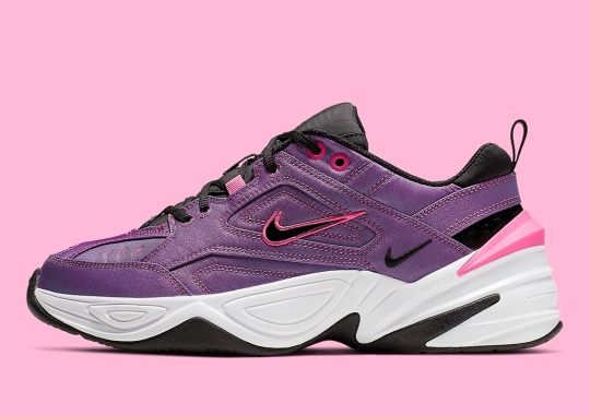 The Nike M2K Tekno Is Dropping In Laser Fuchsia