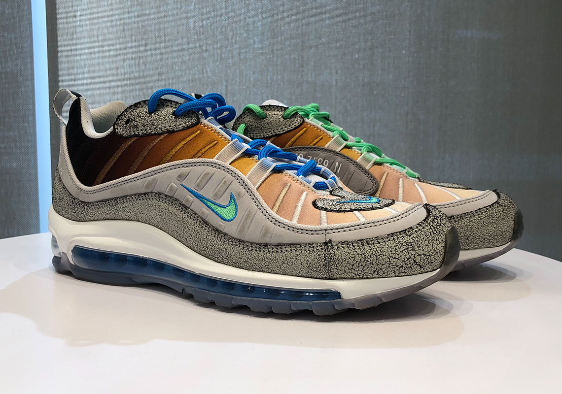 "finest selection b36df 4419a The Air Max 98 ""La Mezcla"