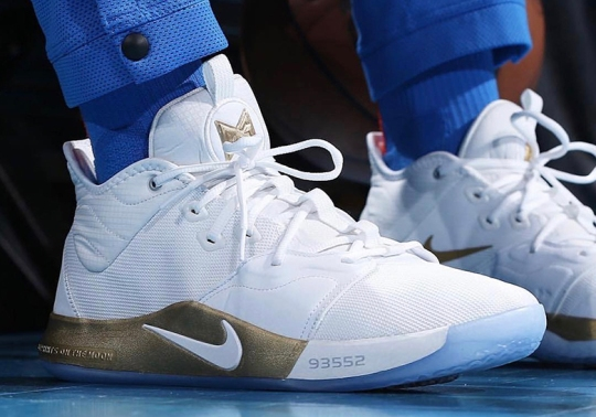 Paul George And Nike To Celebrate 50th Anniversary Of NASA Apollo Missions With PG3