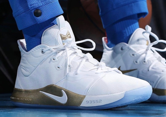 c040d28682c Paul George And Nike To Celebrate 50th Anniversary Of NASA Apollo Missions  With PG3