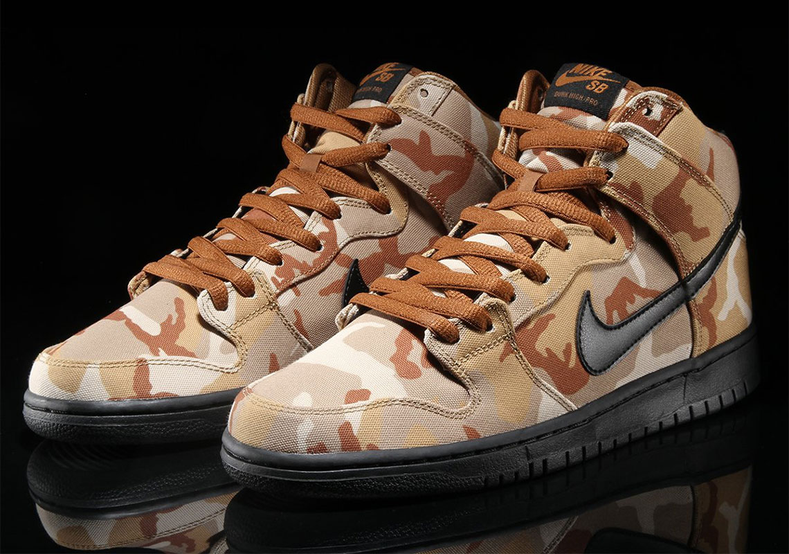Nike SB Dunk High Desert Camo BQ6826