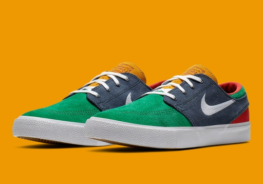 Two Summer-Ready Colorways Come To The Popular Nike SB Janoski