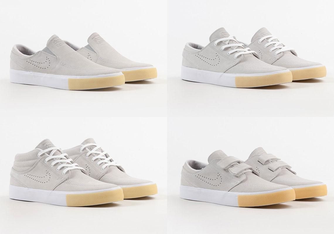 61b922ef4 The Nike SB Stefan Janoski Remastered Collection Adds Gum Toe Bumpers