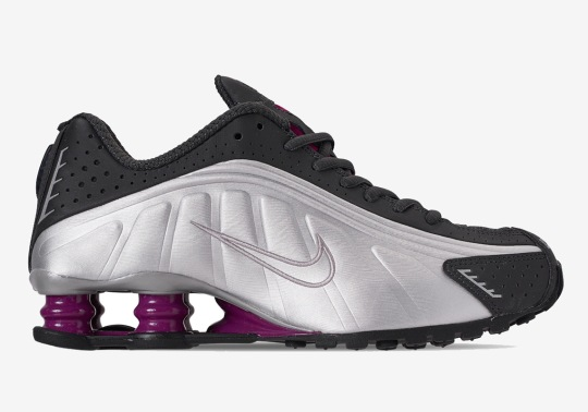 "Nike Shox R4 ""True Berry"" Is Coming In April"